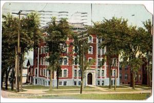 NY - Syracuse. Winchell Hall, Syracuse University - Tuck's5914