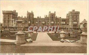 Postcard Old Windsor Castle East Terrace
