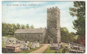 Guernsey; St Pierre Du Bois PPC By Valentines, Unposted, c 1930's