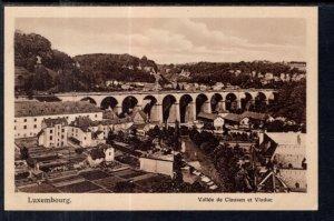 Vallee de Clausen et Viaduc,Luxembourg BIN