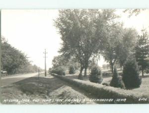 Pre-1950 rppc NICE VIEW Shenandoah Iowa IA W0437