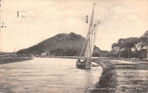 Scotland Caledonian Canal , boat
