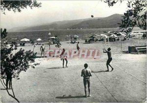 Postcard Modern Tivat Plaza Volleyball Volleyball