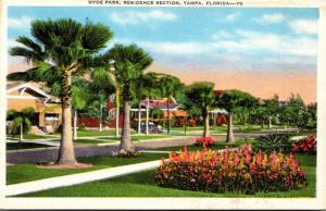 Florida Tampa Hyde Park Residence Section