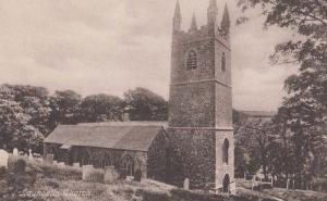 Launcells Church Cornwall Mint Antique Friths Postcard