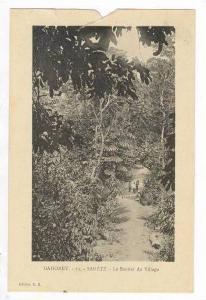 DAHOMEY, Sakete.-Le Sentier du Village, 00-10s