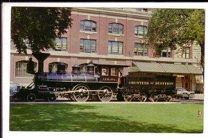 Countess of Dufferin Railway Train, Winnipeg, Manitoba,