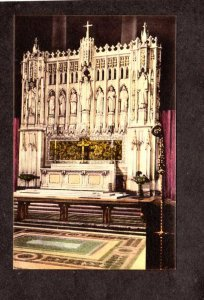 NYC NY Altar Cathedral Church St John the Divine New York City Hand Colored