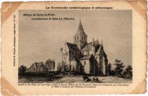CPA St-LO - Abbey de CERISY-la-FORET (149104)