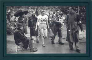 Nostalgia Postcard Dutch Athlete Fanny Blankers-Koen, Olympics 1948, Repro NS49