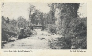 SOUTH WOODSTOCK , Vermont , 1900-10s ; Kedron River