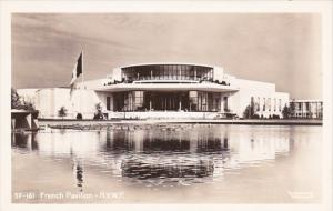 New York World's Fair French Pavilion Real Photo