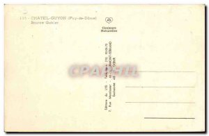 Chatel Guyon Old Postcard Source Gubler