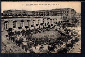 L'Orangerie et le Palais,Versailles,France BIN