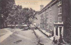 Pennsylvania Lewisburg Main College and The Quadrangle Bucknell University Ar...