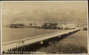 Polson MT c1915 Real Photo Postcard #2