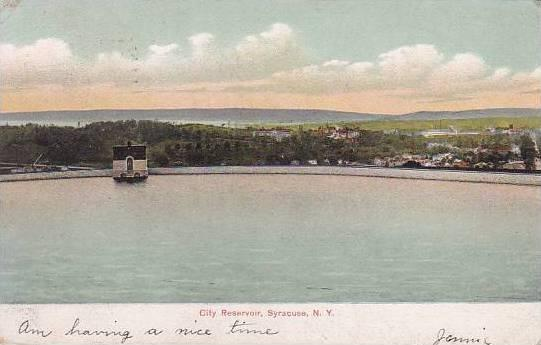 New York Syracuse City Reservoir 1907