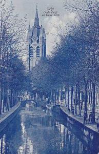 Oude Delft en Oude kerk, Holland, Netherlands, 00-10s