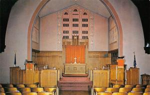 St Louis Missouri~Tyler Place Presbyterian Church Interior on Spring Ave 1950s
