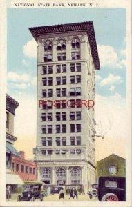 1921 NATIONAL STATE BANK, NEWARK, N. J.