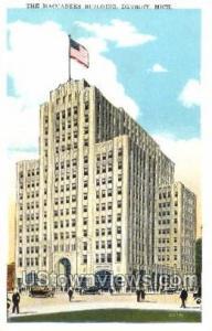 The Maccabees Building Detroit MI Unused