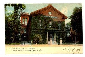 MA - Peabody. Peabody Institute