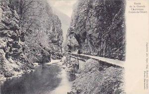 Route De La Grande Chartreuse, Entree Du Desert, Isere, France, 1900-1910s