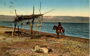 Israel - Along the Dead Sea, 1914