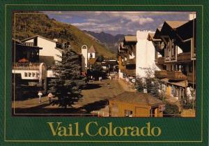 Pedestrian Vail Village 8250 Feet High In the Colorado Rocky Mountains Vail C...