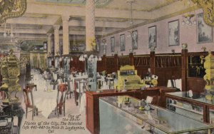 LOS ANGELES, California, 1912; The Oriental Cafe, 445-447 So. Main Street
