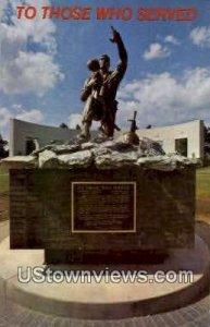 Vietnam & Korea Conflict Statue in Omaha, Nebraska