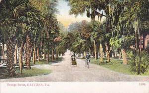 Florida Daytona Bicycles On Orange Street