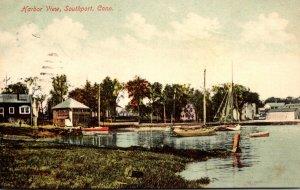 Connecticut Southport Harbor View 1909