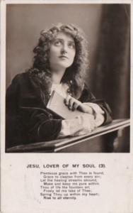 Bamforth Jesu Lover Of My Soul No 3 1905