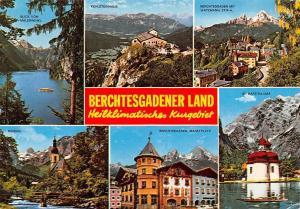 Berchtesgadener Land multiviews Malerwinkl St Bartholomae Kehlsteinhaus Ramsau