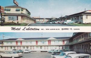 2-views,  Motel L'abitation Inc.,  Quebec,  Canada,  40-60s