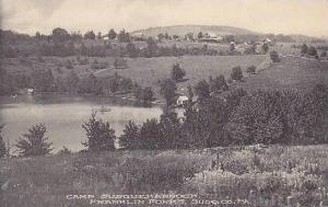 Pennsylvania Susq, Co. Camp Susquehannock Franklin Forks Albertype