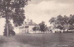 Virginia Mt Vernon Home Of George Washington North View-Albertype