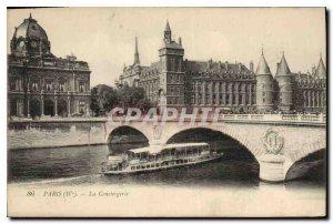 Old Postcard Paris IV the Conciergerie