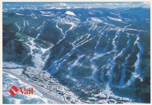 Colorado Vail Mountain The Largest Ski Mountain In North America