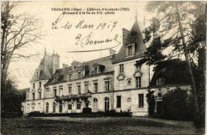 CPA VERBERIE Chateau d'Aramont (377975)