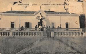 Algeria Zemmorah Infirmerie Municipale Indigene Postcard