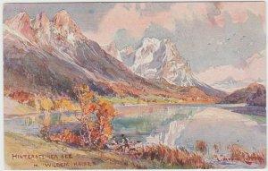Hintersteiner See Lake Wildem Kaiser Austrian national park Tirol
