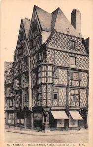 France Angers - Maison d'Adam, Antique logis du XVIIe s.
