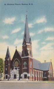 New Hampshire Nashua St Aloysius Church