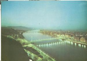 Hungary, View of Budapest, used Postcard
