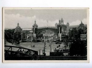 235752 CZECH PRAHA tract of exhibition Vintage photo postcard