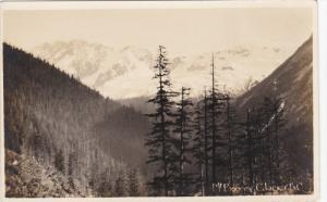 GLACIER, British Columbia, Canada, 1910-1930's; Mt. Bonney