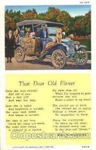 Old Flivver, King A.Woodburn Auto, Automotive, Vehicle, Car, Unused