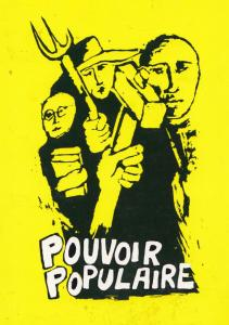 People Power In France 1968 Poster Art Greeting Card Postcard